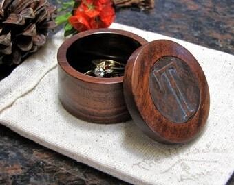 Ring Box, Engagement Ring Box, Wedding Ring Box, Wood Ring Box, Ring Bearer Box, Spalted Ring Box, Ring Bearer Pillow, 3D Printing