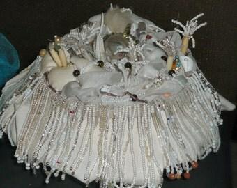 Ghost Reef - Beaded Sculpture