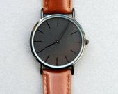 ON SALE Custom Engraved Personalized Mens Wrist Watch, Groomsmen Gifts, Mens Birthday, Wedding, Anniversary Gifts, Father's Day Gifts, Husba
