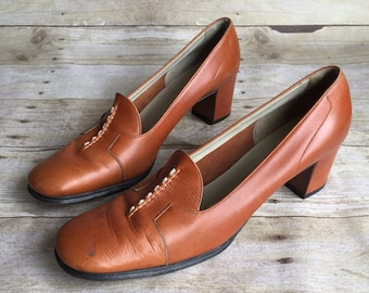 Vintage leather Shoes - 8 1/2 AAAA - Rangoni Madenin Florence
