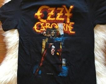 1982 ozzy osbourne speak of the devil tshirt