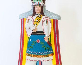Mexican Folk Art, Tree of Life Headdress, Mexican Candleabra