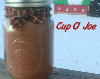 Cup O' Joe Soy Candle in 16 oz Jar