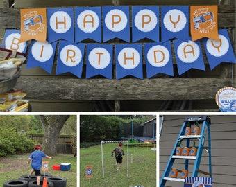 Nerf Gun (inspired) Birthday, Nerf Gun Birthday Invitation, Nerf Gun Printables, Nerf Gun Birthday Decorations, Lauren Haddox Designs