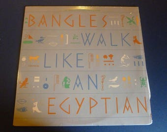 Bangles Walk Like An Egyptian Vinyl Record LP 44 05935 Columbia Records 1985