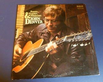 John Denver Poems,Prayers & Promises Vinyl Record LP LSP-4499 RCA Victor 1971
