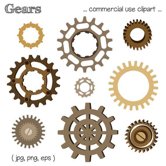 Steampunk Gears Clipart | www.pixshark.com - Images ...