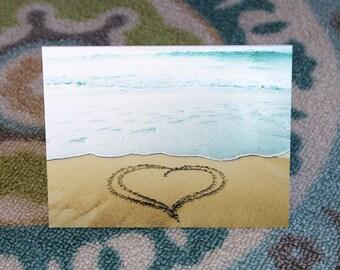 Whimsical Heart Notecard