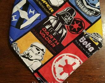 Star Wars bandana bib, Storm Troupers, Bandana bib