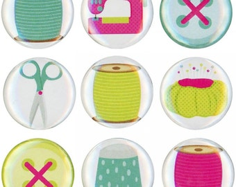 Quilt Dots MAGNETS - please specify which one you want