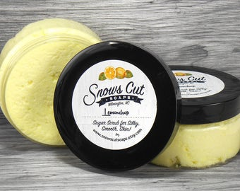 Lemondrop Whipped Sugar Scrub
