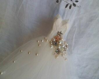 Assemblage Art miniature ballet dress