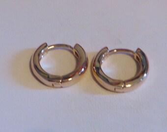 15 Cts 18k Hoop Earrings Gift Gold Hoop Earrings Gold Earrings Woman's Hoop Earrings Gold Hoops Yellow Gold Earrings Earring Jewelry Gift