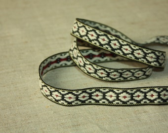 Folk Floral Ribbon