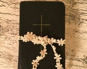 Antique Pocket Book of Common Prayer - Small Leather Hymnal from 1940s