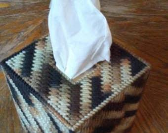 Platton Plastic Canvas Tissue Box Cover