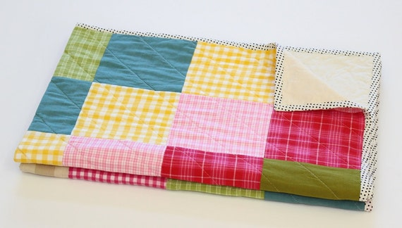 Baby Girl Patchwork Quilt | Baby Shower Gift Ideas