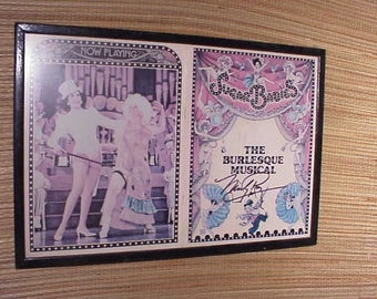 Signed Sugar Babies Burlesque Musical 1979 Program Mickey Rooney and Ann Miller