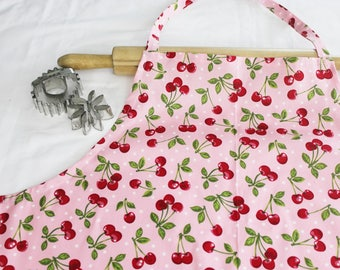 Plus Size Retro Cherry Apron
