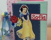 Custom order for bluebyrd04- 2 princess autograph books