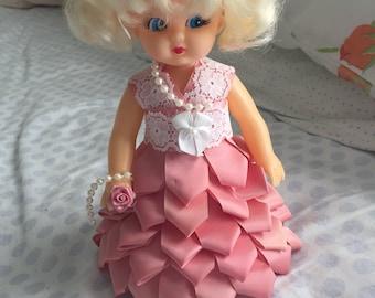 Styrofoam Little Girl Display Doll