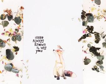 Beautiful postcard - Art Print - You