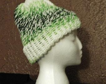 Green White Team Hat