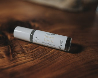 Honey Toffee Artisan Perfume- Perfume Oil-.30 oz