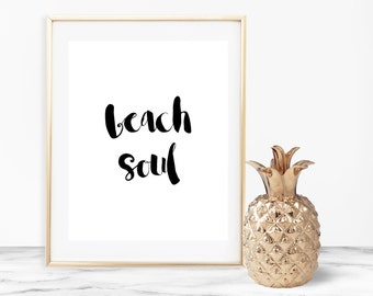 Beach Soul Wall Art