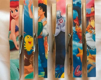 Little Mermaid Fish Extender Magnets - Disney Fish Extenders Magnets - Birthday Party
