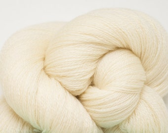 Buttercream Recycled Extra Fine Grade Merino Lace Weight Yarn, EFM00218