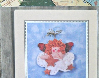 Hope Cherub Ornament Pattern, The Quilted Rabbit
