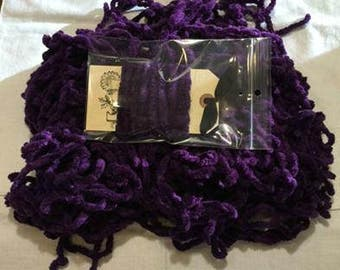 Pick One WIZARD hand-dyed Chenille Plush Pom Pom Trim or 9/16 Ribbon continuous yards Lady Dot Super Soft Plump Fuzzy Finishing notion