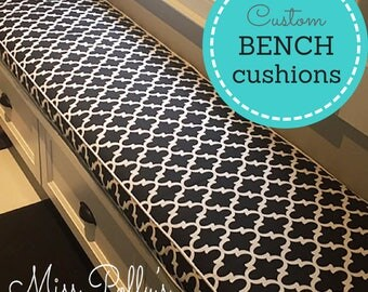 Custom Cushions/ Bench Cushions/ Window seat Cushions /Arm Rests/ Swing Cushions- RESERVED LISTING for sandys981