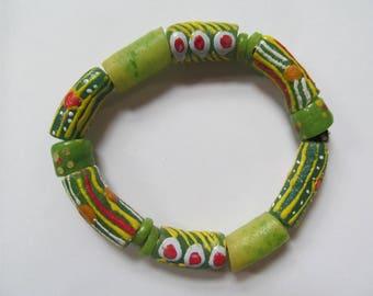 Green African Bracelet