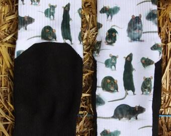 Multiple Rats Barn Hunt Socks