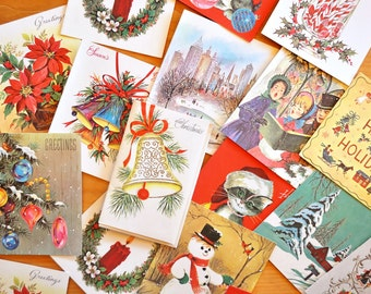 Collection of Unused Mid-Century Christmas Cards