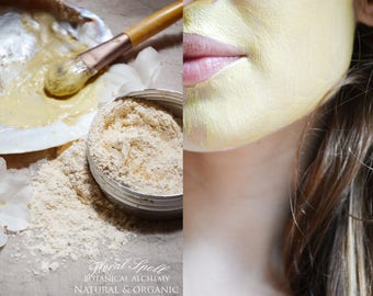 Floral Spell Golden Glow Face Mask