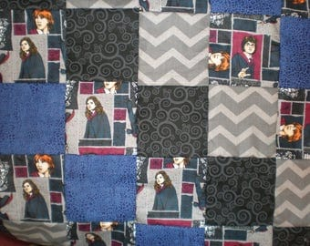 Harry Potter Patchwork Quilt