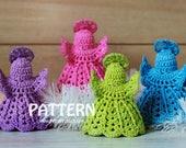 Crochet Pattern - Angel Ornaments (Pattern No. 074) - INSTANT DIGITAL DOWNLOAD