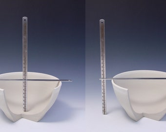 Stainless Steel Pottery Measurement Tools (© copy right #TXu 1-961-453) by Master Potter HsinChuen Lin 林新春