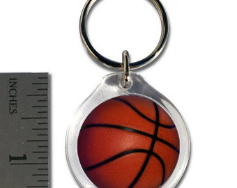 Small Basketball Keychain