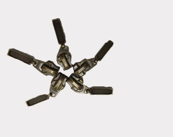 10 sliders for zipper