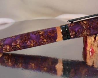 Designer Euro Twist Pen/ Lavender Alder Cones