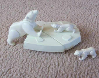Playmobil Polar Bears and Iceberg