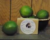 Fresh Ginger Lime Goat Milk Soap