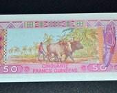 Guinea Banknote 1960 Uncirculated