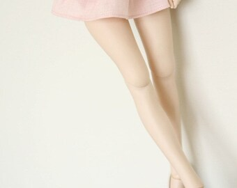 SAYOKO outfit fit 10/13 SD super dollfie 1/3 BJD - Double cake skirt - Pink (No.B366)