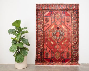 SARDAR 4.5x7 Hand Knotted Persian Wool Rug