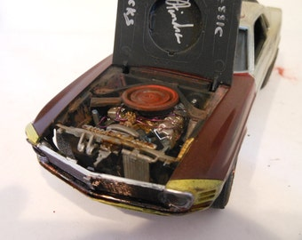Scale Model Car,Ford Mustang,Rusted Wreck,Classicwrecks,Christmas Gift